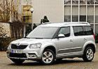 Škoda Yeti 1.2 TSI 77 kW – Zrozena pro město