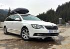 Škoda Superb Combi GreenLine (77 kW) – Reálný test spotřeby
