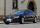 Audi A8 L 4.2 TDI – Jistě, pane ministře
