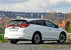 Honda Civic Tourer 1.8 i-VTEC ADAS 1 – Za pár tisíc vbezpečí