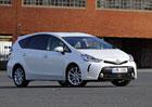 Toyota Prius+ – Hybrid pro sedm