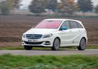 Mercedes-Benz B 250 e – Proč tak žere?