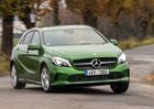 Mercedes-Benz A180 d – Za čtyři, maximálně za pět