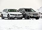 Subaru Outback 2.0D Lineartronic vs. VW Passat Alltrack 2.0 TDI 4Motion DSG – Nejsme jenom kombi!