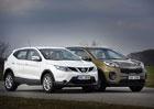 Kia Sportage vs. Nissan Qashqai – Terénní předokolky