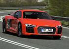 Audi R8 V10 plus – Na hraně zákonů. Fyziky!