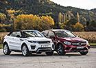 Mercedes-Benz GLC Coupé 250 d 4Matic vs. Range Rover Evoque Cabriolet 2.0 TD4 – SUV na druhou