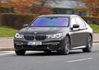 BMW 750Ld xDrive – Šest válců a čtyři turba