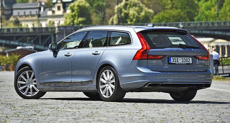 Volvo V90 T6 – Jeden nutný příplatek