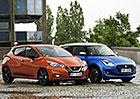Nissan Micra IG-T 90 vs. Suzuki Swift 1.0 BoosterJet SHVS – Dva revolucionáři