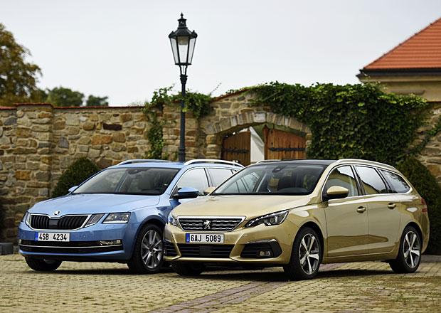 Peugeot 308 SW vs. Škoda Octavia Combi – Duel obřích kufrů