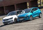 Ford Fiesta 1.0 EcoBoost vs. Škoda Fabia 1.0 TSI – Malí, drazí, automatoví…