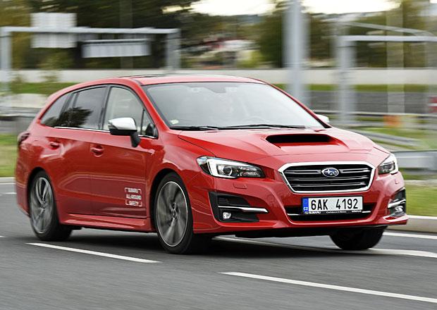 Subaru Levorg 1.6GT-S Lineartronic – Má vůbec chybu?