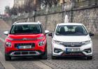 Citroën C3 Aircross vs. Honda Jazz – Exotičtí kříženci