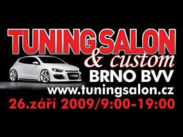 Tuning&Custom Salon Brno 2009 - pozvánka