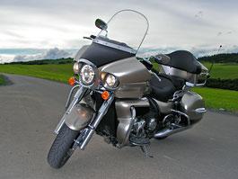 Test: Kawasaki VN1700 Voyager a srovnání s Harley-Davidson Electra Glide