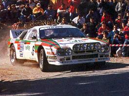 Pod lupou: Lancia 037 - Bez čtyřkolky pro titul