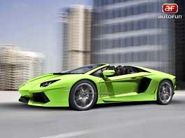 Spy Photos: Lamborghini Aventador Spyder