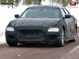 Spy Photos: Maserati Quattroporte