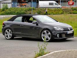 Spy Photos: VW Golf R Cabrio