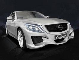Mercedes-Benz třídy S by Lorinser: asijský bodykit
