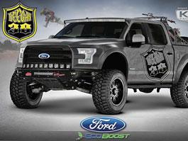 Ford F-150: Driftování s pick-upem
