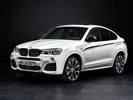 BMW X4 M Performance: Emkový styl a posílený turbodiesel