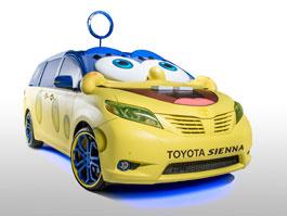Toyota Sienna SpongeBob: MPV v outfitu oblíbeného animáku