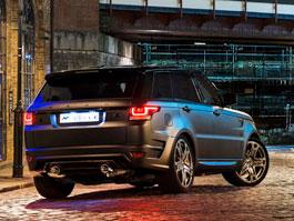 Range Rover Sport 400 LE A Kahn Design: RRS s větší porcí luxusu