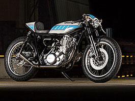 Yamaha SR400: Kompresorový café racer od Kruggera