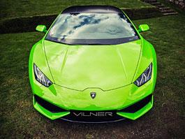Vilner proměnil Lamborghini Huracán ve smaragdově zelený drahokam