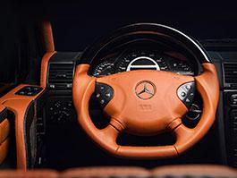 Mercedes-Benz G 55 AMG s pěknou porcí luxusu v interiéru
