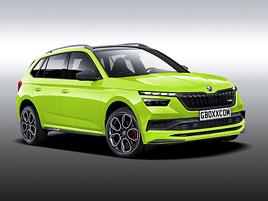 Takhle by mohla vypadat Škoda Kamiq RS. Jak se vám líbí?