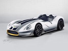 Lister ukázal nový sportovní roadster. Jeho retro design se inspiruje Mossovým závoďákem z 50. let