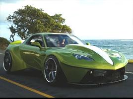 Chlapík snil o autě s vlastním designem. A tak si jedno postavil, zabralo mu to 10 let