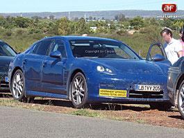 Spy photos: Porsche Panamera – Jdeme do finále: titulní fotka