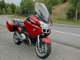Test - BMW R1200RT: cestování je radost: titulní fotka