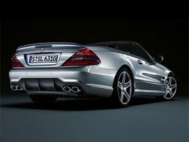 Nabroušené Mercedesy SL: titulní fotka
