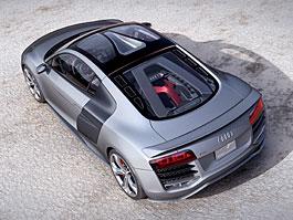 Detroit 2008: Audi R8 V12 TDI - nové foto (+video): titulní fotka
