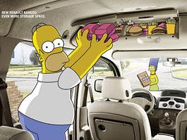 Simpsonovi podporují Kangoo: titulní fotka