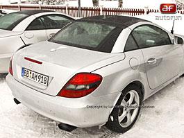Spy Photos: Mercedes SLK: titulní fotka