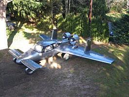 Milner Motors AirCar – okřídlené auto. Auto?: titulní fotka
