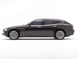Kombi verze modelu Maserati Quattroporte: titulní fotka
