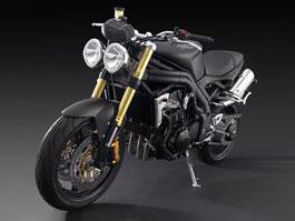Triumph Speed Triple 1050 matt black: temný gladiátor: titulní fotka