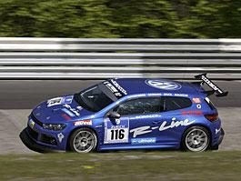 VW Scirocco se připravuje na 24 hodin na Nürburgringu - nové foto!: titulní fotka