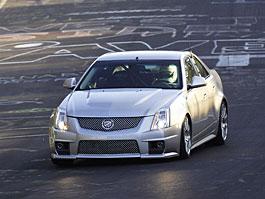 Cadillac CTS-V nejrychlejším sedanem Nordschleife: titulní fotka
