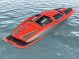 Motorový člun á la Corvette? Proč ne?: titulní fotka