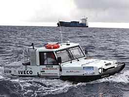 Iveco Terramare - obojživelný náklaďák: titulní fotka