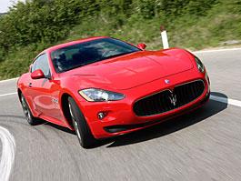 Maserati GranTurismo S - nová fotogalerie: titulní fotka