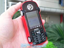 Autíčko Ferrari jako telefon: titulní fotka